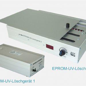EPROM-Löschgerät 1 und 2