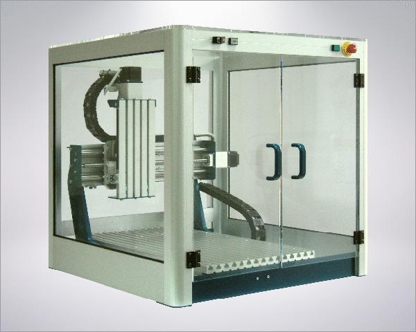 Maschineneinhausung für CNC-Pure