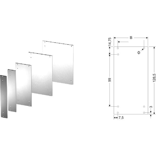 Frontplatten 19Zoll-Baugruppen